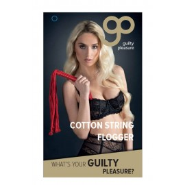 GP Cotton String Flogger Red