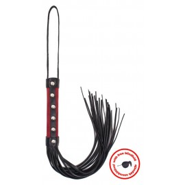 Whip Red Nubuk With Blindfold