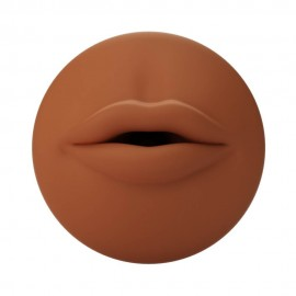 Autoblow A.I. Silicone Mouth Sleeve - Brown