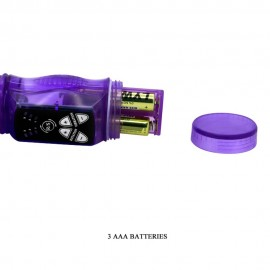 3-speed vibe, 3-speed rotation, beads, TPR Available color: Pink and Purple Battery: 3AAA