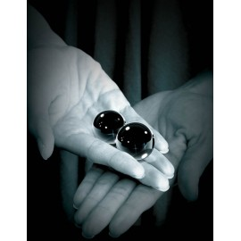 Fetish Fantasy Series Limited Edition Medium Black Glass Ben-Wa Balls