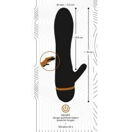 Bendy Ripple Clit Vibrator