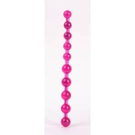 Jelly Pleasure Beads Pink