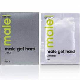 MALE get hard cream - 6 pcs x 4 ml